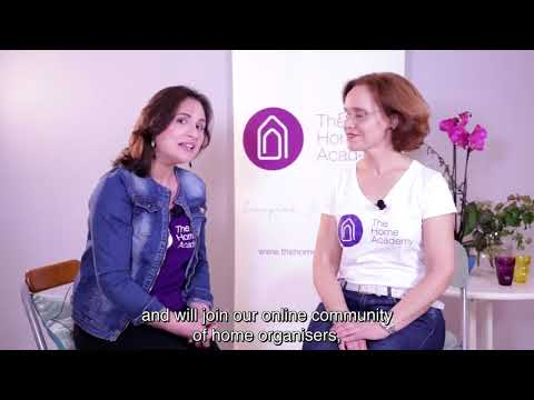 online professional organiser course - YouTube