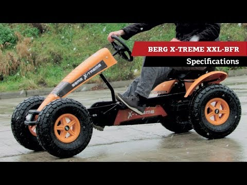 BERG X-Treme XXL BFR pedal go-kart | specifications