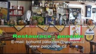 preview picture of video 'Bohumil Palounek, Jihočeská restaurace U Bohouše, Penzion PUP, Česká Lípa'