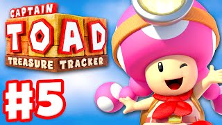 Captain Toad: Treasure Tracker - Gameplay Walkthrough Part 5 - The Captain Gets Toadnapped 100%