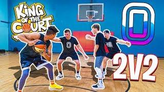 INSANE 2v2 & 1v1 KING OF THE COURT BASKETBALL! 2HYPE vs Overtime TW