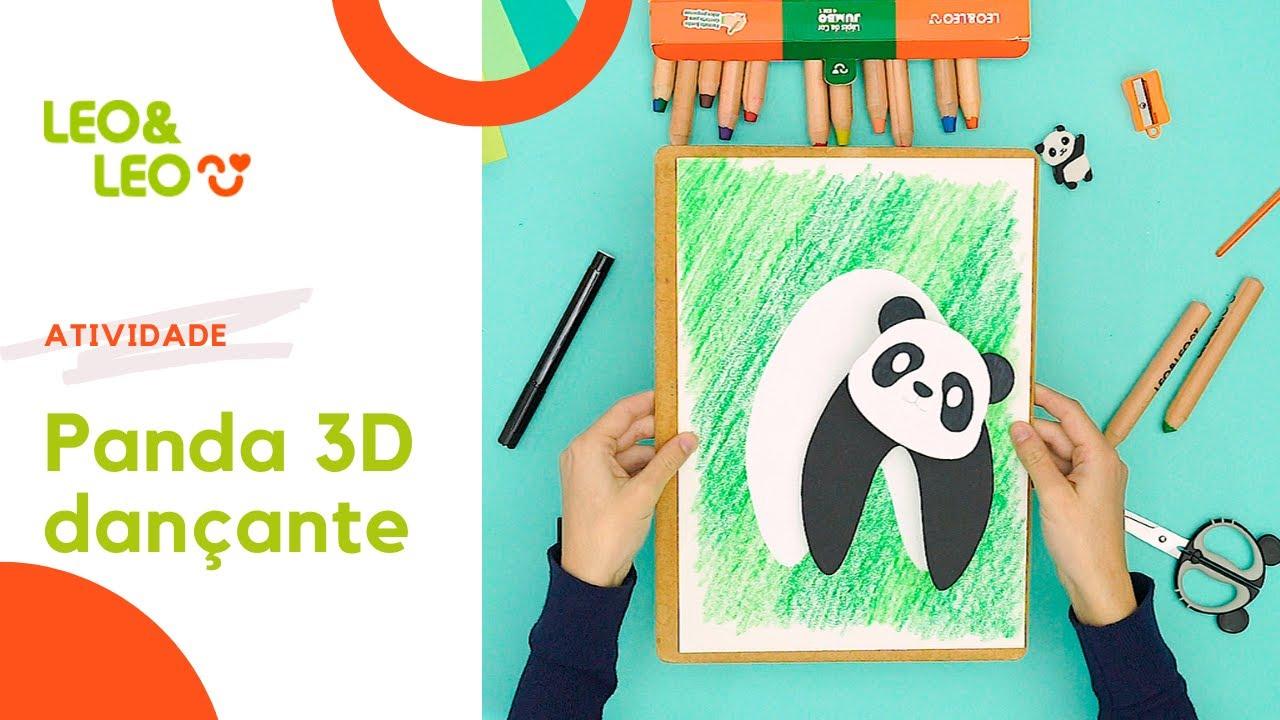 Atividade: Panda 3D dançante