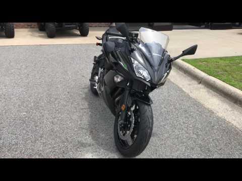 2017 Kawasaki Ninja 650 ABS in Greenville, North Carolina