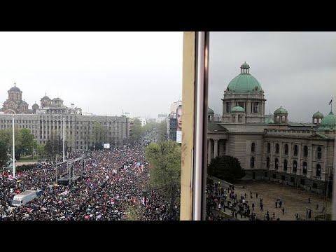 Νέα διαδήλωση κατά του Βούτσιτς