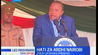 President Uhuru issues 50,000 title deeds in Nairobi's Eastland Area