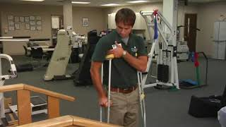 How to Use Crutches Properly