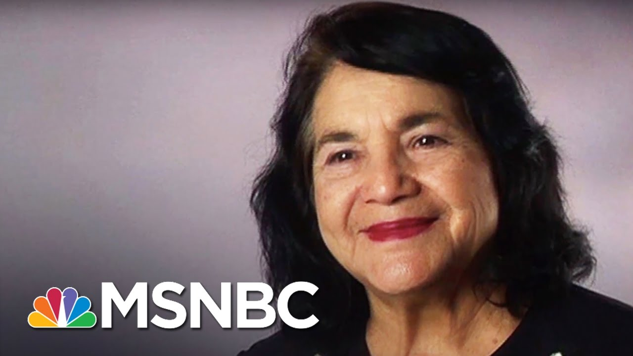 Dolores Huerta: Labor Activist | 7 Days Of Genius | MSNBC thumbnail
