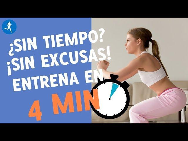 En forma en 4 MINUTOS: rutina de entrenamiento Tabata | Vitónica