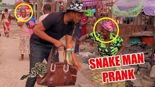 AFRICAN SNAKE MAN PRANK