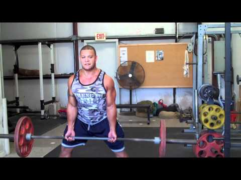 Correct Dead Lift Form for tall athletes