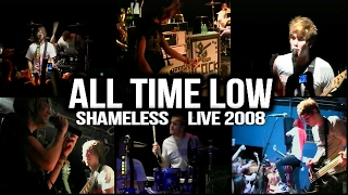 "ALL TIME LOW ""Shameless"" Live 2008 (Multi Camera) Greensboro, NC"