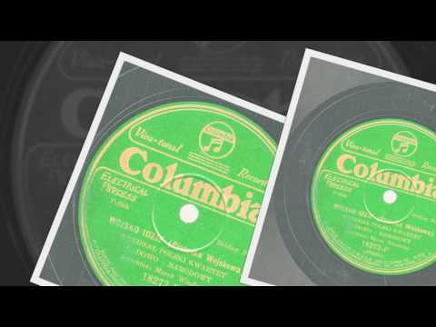 Polish 78rpm recordings, 1928. Columbia 18273-F. Wojsko Idzie - Piosenka Wojskowa {Soldier