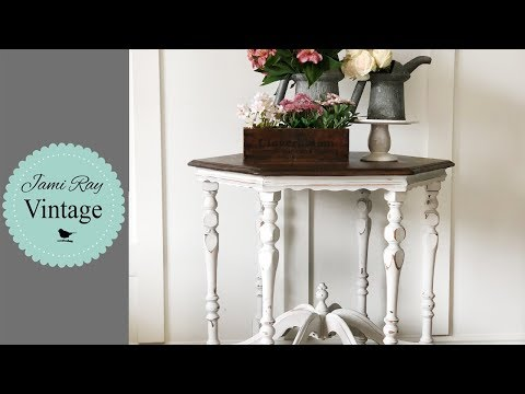 How To Two Tone An Antique Table