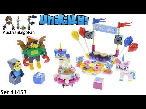 Vidéo LEGO Unikitty 41453 : La fête