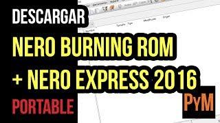 Descargar Nero 2016 Portable (Nero Burning Rom + Express)