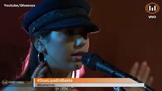 Dua Lipa Acoustic Session @ Basta de Todo - Argentina HD