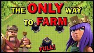 FASTEST METHOD TO FARM!! 2019 EDITION! | Clash Of Clans | LOOT DARK ELIXER MAX HEROS