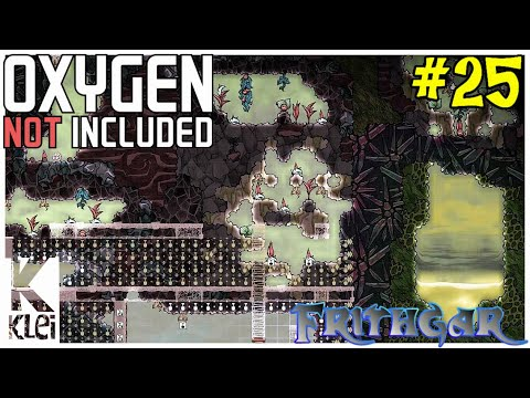 Let's Play Oxygen Not Included #25: Heading Into Chlorine Land!