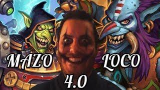EL MAZO LOCO 4.0   LA ARENA DE RASTAKHAN   HEARTHSTONE   Just for Fun (Salvaje)
