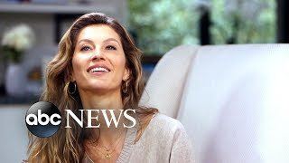 Gisele Bundchen on how she rose up from 'rock bottom'