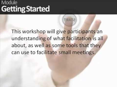 Facilitation Skills Training - YouTube