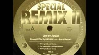 Jeremy Jordan Its Alright