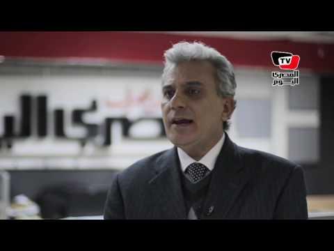 جابر نصار: أدير صفحتي بنفسي على «فيسبوك وتويتر».. وكشفت وقائع فساد