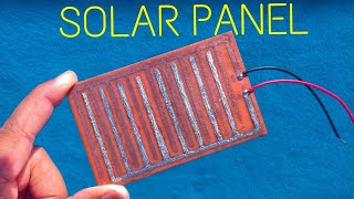 How to make solar panel / solar cell at home