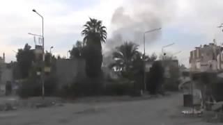 preview picture of video 'D.P.N || Shelling on Al-Jbeileh Neighborhood Part2 18-11-2012'