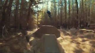 Race Drone in The Pines | Haznationbikes MTB