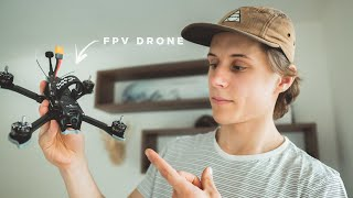 Why I got a CINEMATIC FPV DRONE for Filmmaking !!
