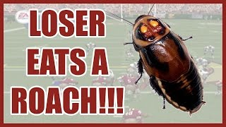 LOSER EATS A LIVE ROACH!! - Madden NFL 2002 (PS2)   #ThrowbackThursday ft. @Juice_Hoops