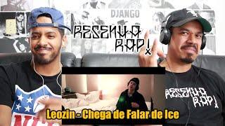 RESENHA RAP! Leozin   Chega De Falar De Ice (Clipe Oficial)