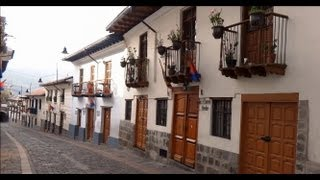 preview picture of video 'Barrio La Ronda, Quito'