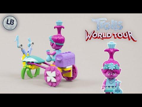 Vidéo LEGO Trolls World Tour 30555 : Poppy's Carriage (Polybag)