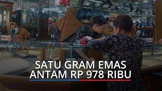UPDATE Harga Emas di Padang Hari Ini Senin, 19 April 2021, Satu Gram Emas Antam Rp 978 Ribu