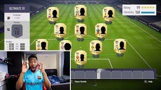 THE BEST TEAM ON FIFA 18 ULTIMATE TEAM!!