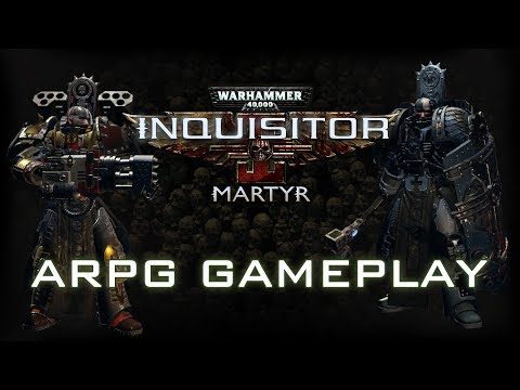 W40K: Inquisitor - Martyr | ARPG Gameplay Trailer thumbnail