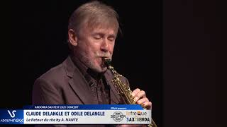 Claude Delangle et Odile Delangle plays Le Retour du rite by A. NANTE