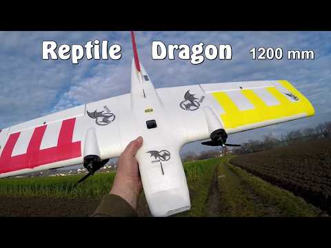 Bangood: Reptile Dragon 1200mm - Maiden flight
