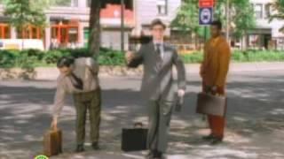 Sesame Street: Bill Irwin Break Dances at Bus Stop