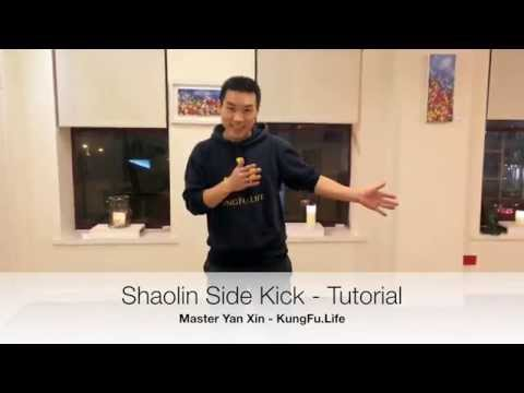 Shaolin Side Kick Tutorial - how to practice at home