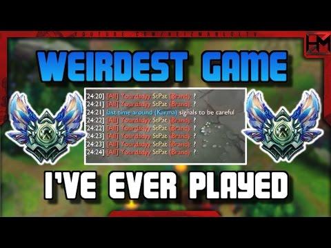 The Weirdest Game of League of Legends   Diamond Solo Queue
