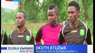 Zilizala Viwanjani: Mkufunzi wa timu ya Zoo Kericho Sammy Okoth atunzwa