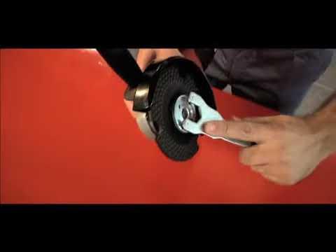 VIDEO    - Disque coupe pour acier plus