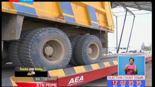 Lorry drivers have devised ways of evading law enforcers as they continue to overload their trucks