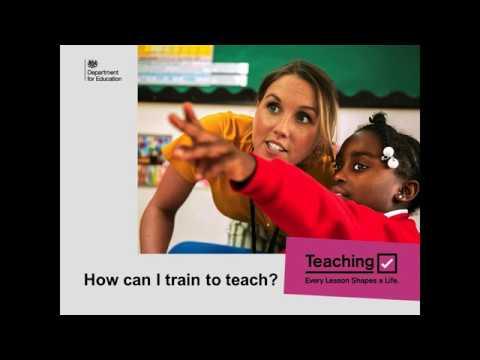 Train to Teach Introduction to Teacher Training Presentation ...