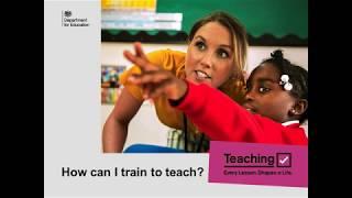 Train to Teach Introduction to Teacher Training Presentation
