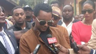 Ethiopia: Teddy Afro donated one million birr to peoples who are displaced from Burayu.