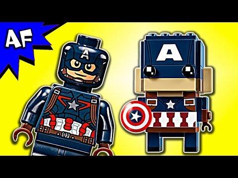 Vidéo LEGO BrickHeadz 41589 : Captain America